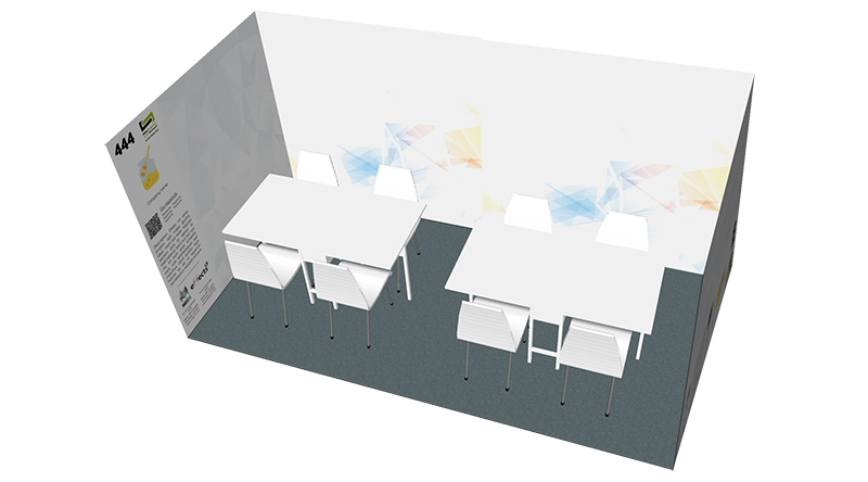 8sqm booth