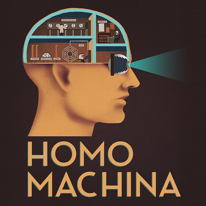 "Homo Machina, ""A fantastic journey through the human body factory"""