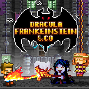 Dracula , Frankenstein & Co VS the villagers